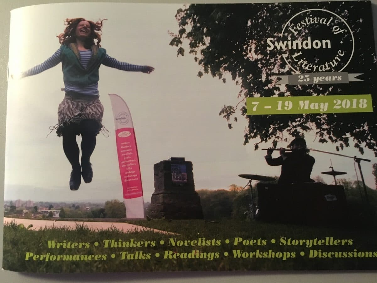 The 25th Swindon festival of Literature is launched!