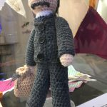 Raggy Powell as knitted by the Stitch n Bitch group