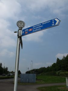 National Cycle Network 45 sign - Swindon stuff to do on the cheap