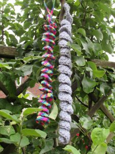the longest knit - yarn twirl