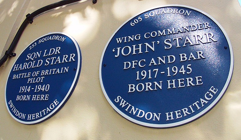 The Starr Brothers blue plaques