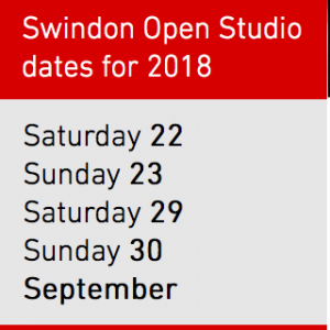 Swindon open studios dates 2018