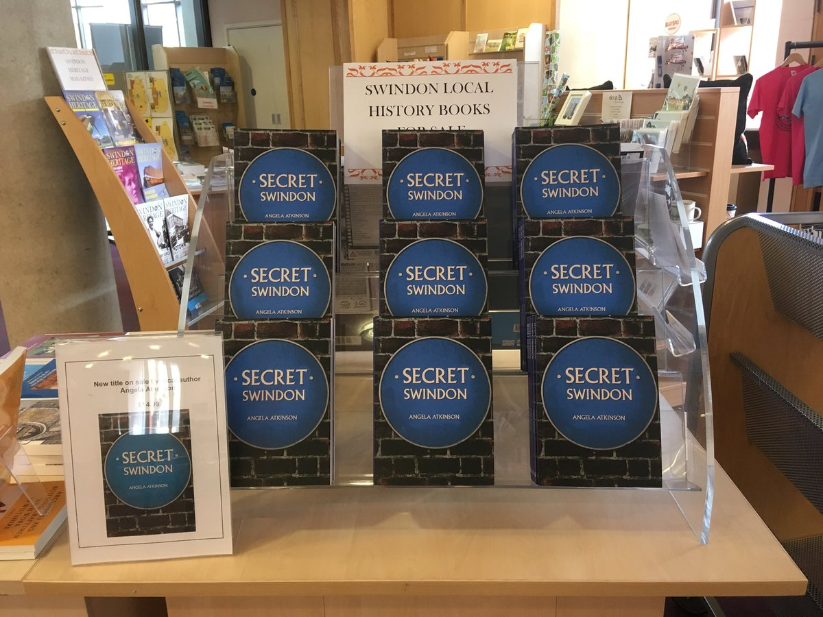 Secret Swindon book launch