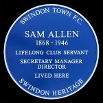Sam Allen blue plaque