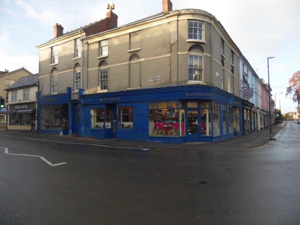 Blaylock's corner view - Blaylock's Shoe Shop Old Town