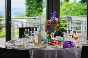 Choosing your event stylist - table set ready to dine