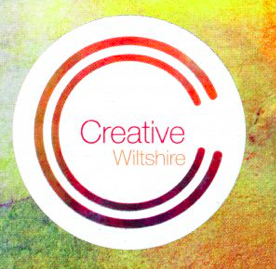 art and design close to home - creative Wiltshire logo