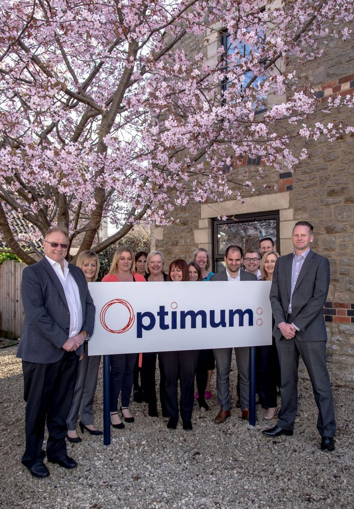 optimum hosts business breakfast - the optimum team