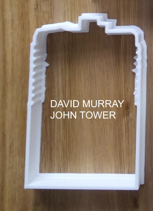 David Murray John tower cookie cutter