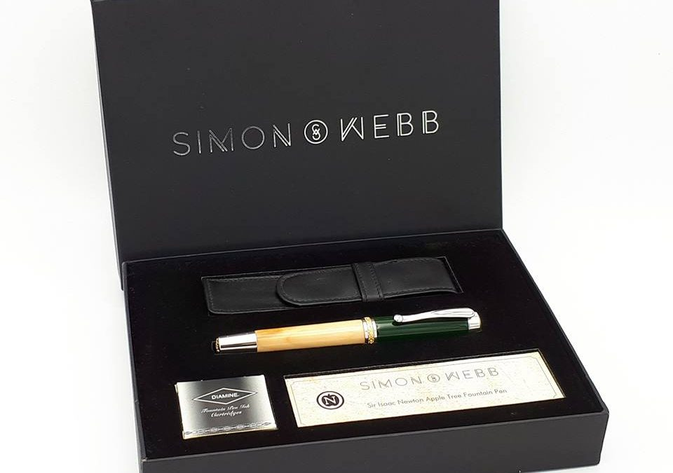 Simon Webb: Hand-turned Pens and Cufflinks