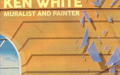 Front cover of Ken White retrospective