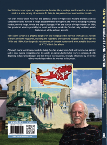 Back cover of Ken White book