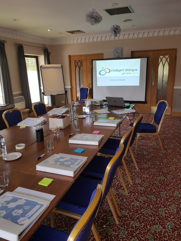 Intelligent Dialogue training room ready for delegates