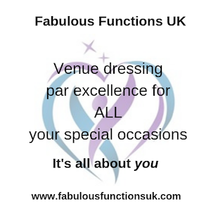 Fabulous functions logo - choosing your event stylist