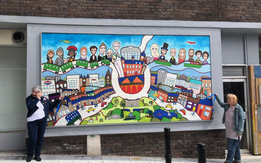 New Murals in Swindon