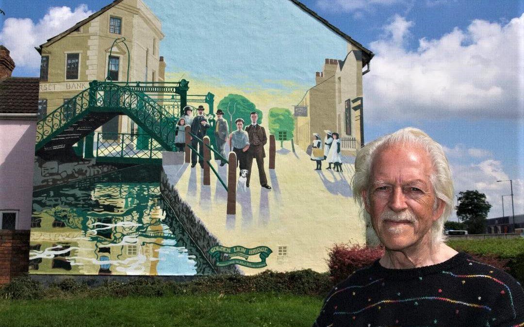No 5: Ken White – Swindon's Mural Man