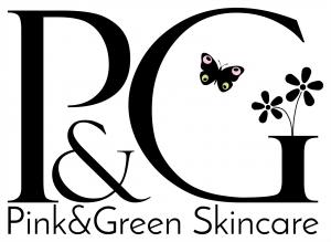 logo pink and green organic skincare