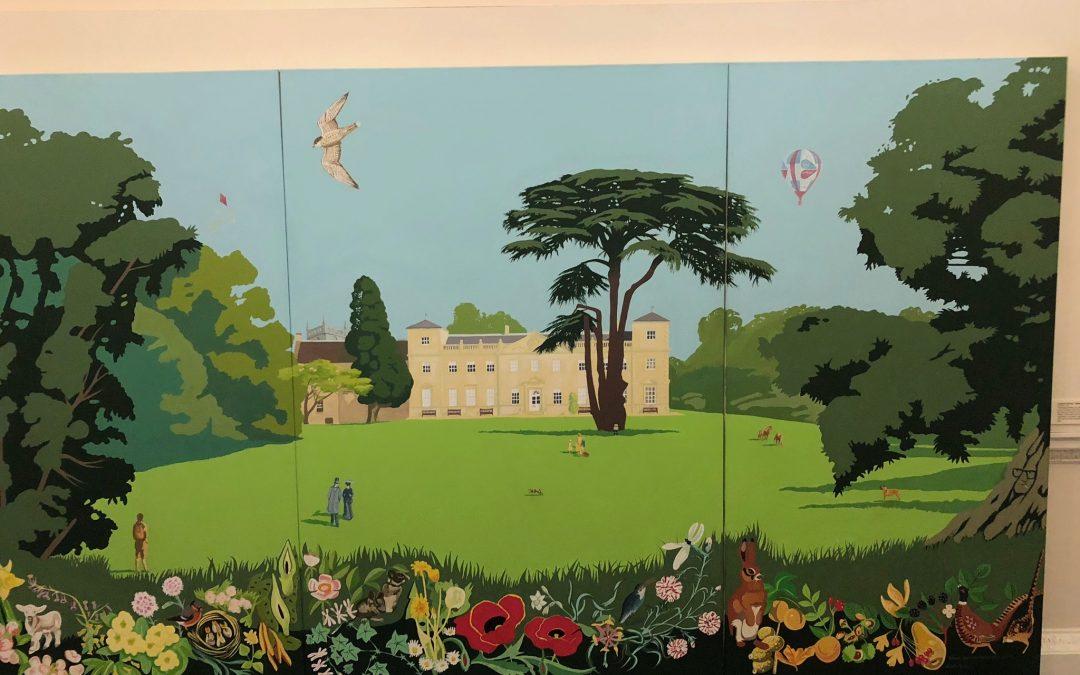 Ken White Triptych Lydiard House