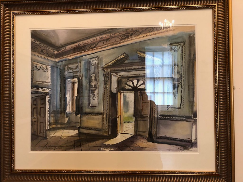 water colour of lydiard