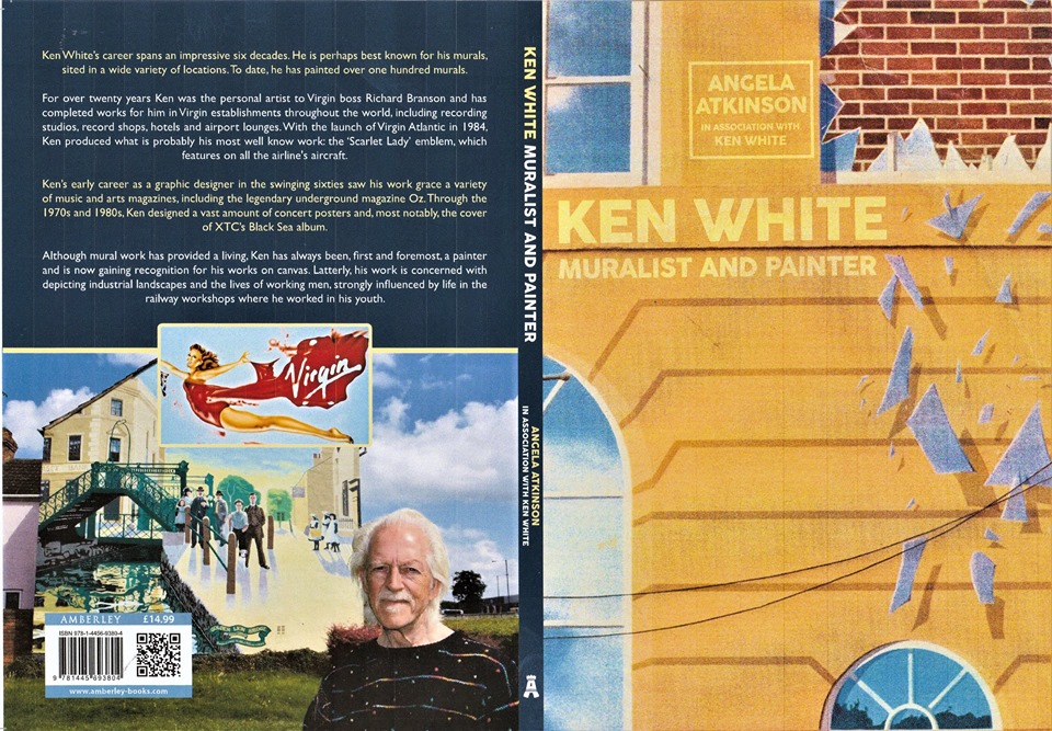 Book cover of Ken White: Muralist and Painter by Angela Atkinson