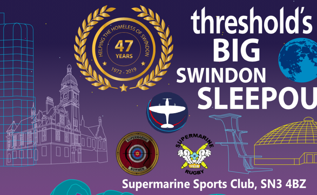 Threshold's BIG Swindon Sleep Out 2019