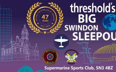 Threshold's BIG Swindon Sleep Out 2019