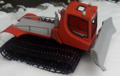 3D Printing - SED Developments - 3D printed remote controlled snow plough
