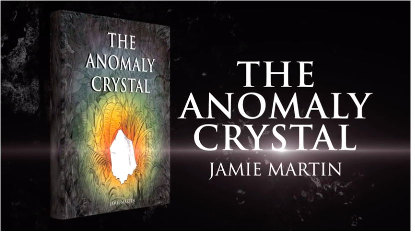 Jamie Martin: The Anomaly Crystal - book cover