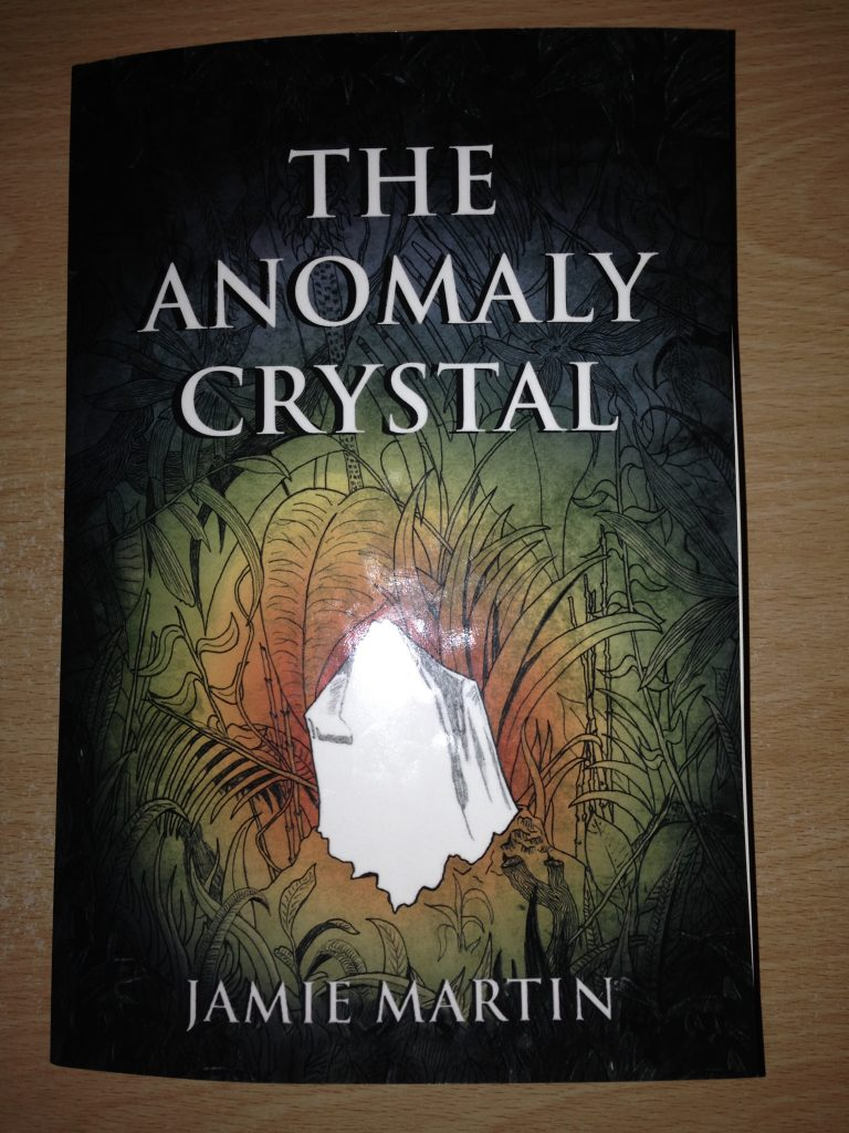 Jamie Martin: The Anomaly Crystal front cover