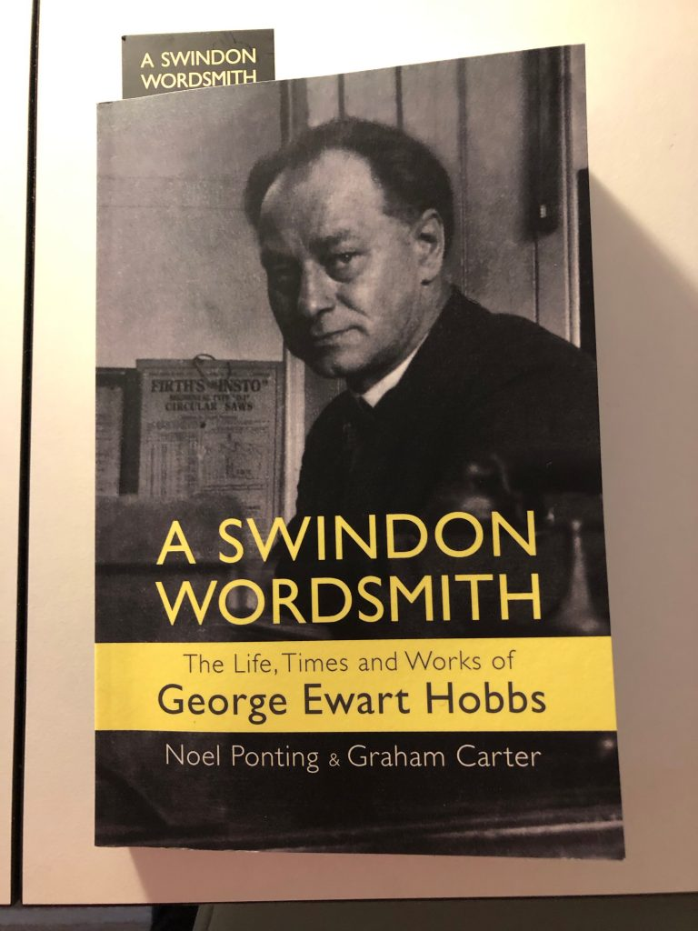 A Swindon Wordsmith - George Ewart Hobbs - front cover of the book.