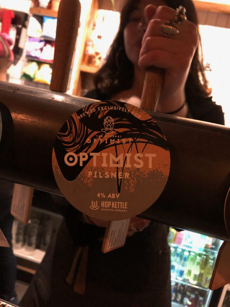 Hop Kettle Pilsner Lager  - the tap in the eternal optimist