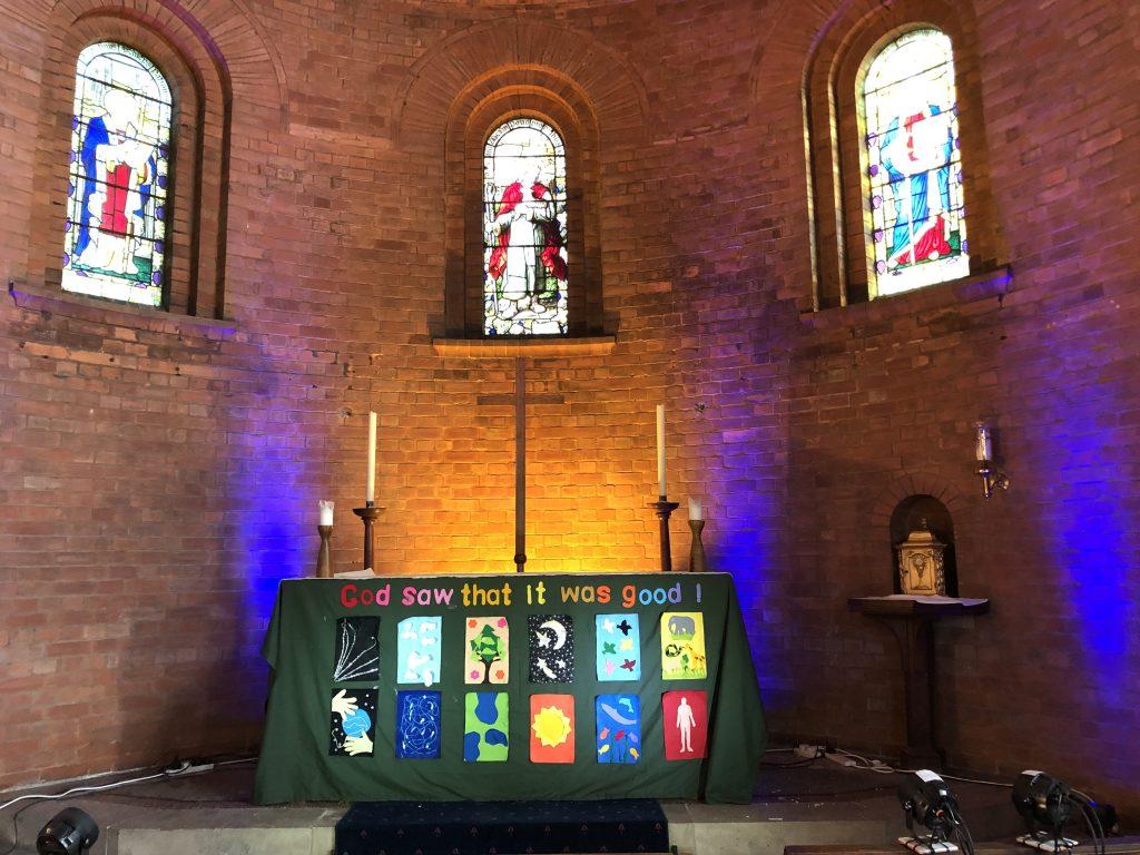 St Augustine's Church Swindon - interior