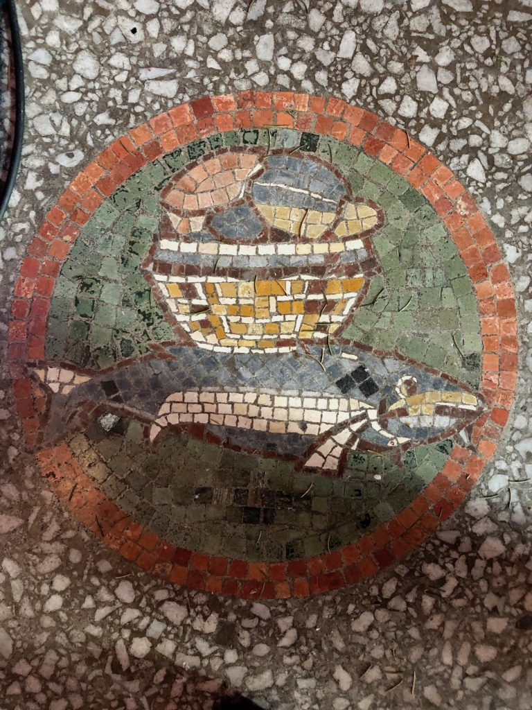 The loaves and the fishes at St Augustine's Church, Swindon