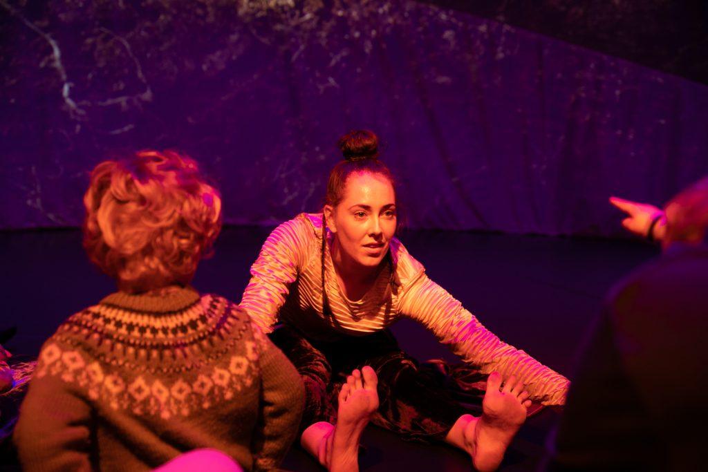 Curiouser: A dance adventure - dancer on floor