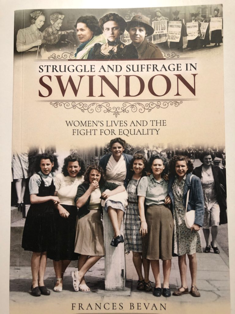 cover of struggle and suffrage in Swindon