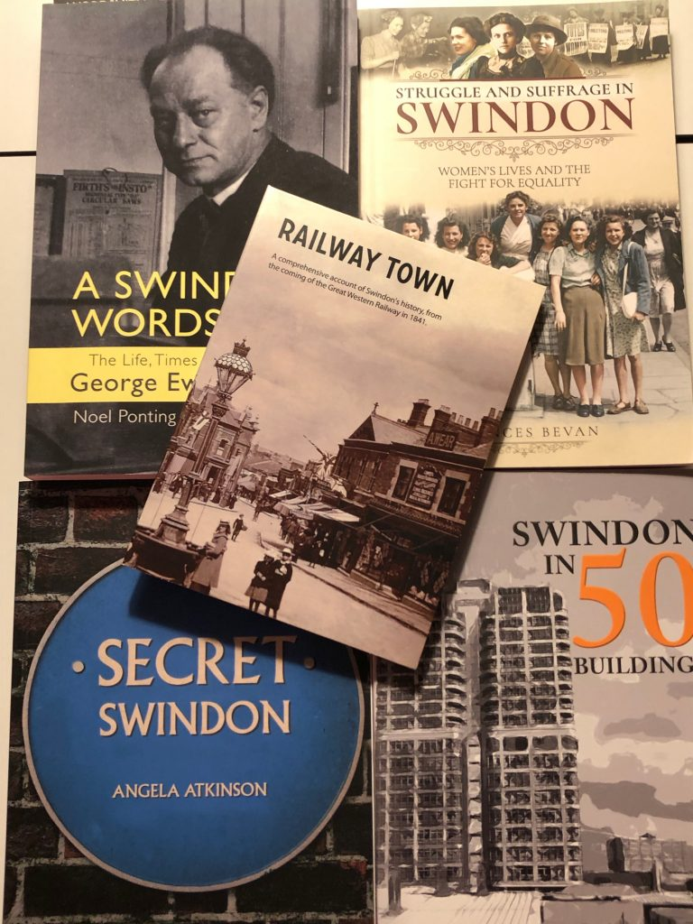 5 Swindon Books to Read Now - covers of books
