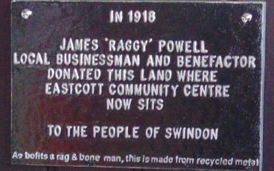 James Raggy Powell Plaque