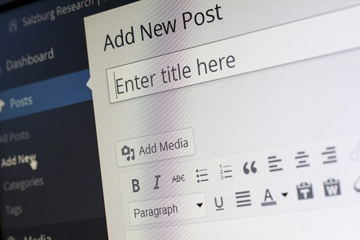 5 Reasons to Blog: Now! - wordpress editing screen