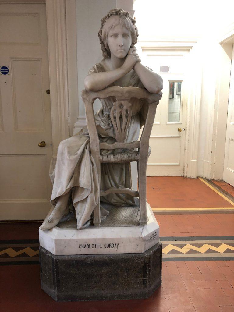 Charlotte Corday Statue Swindon - in Swindon Town Hall