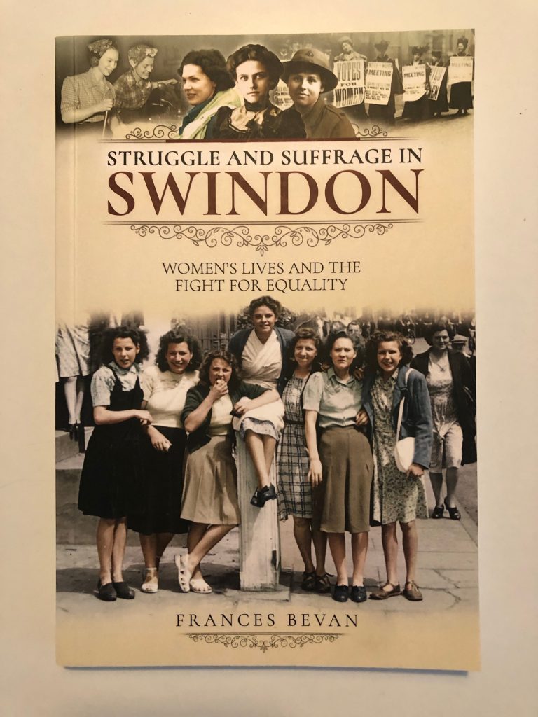 Struggle and Suffrage in Swindon - Frances Bevan - cover of book