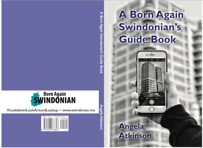 Front and back cover of the forthcoming guide book