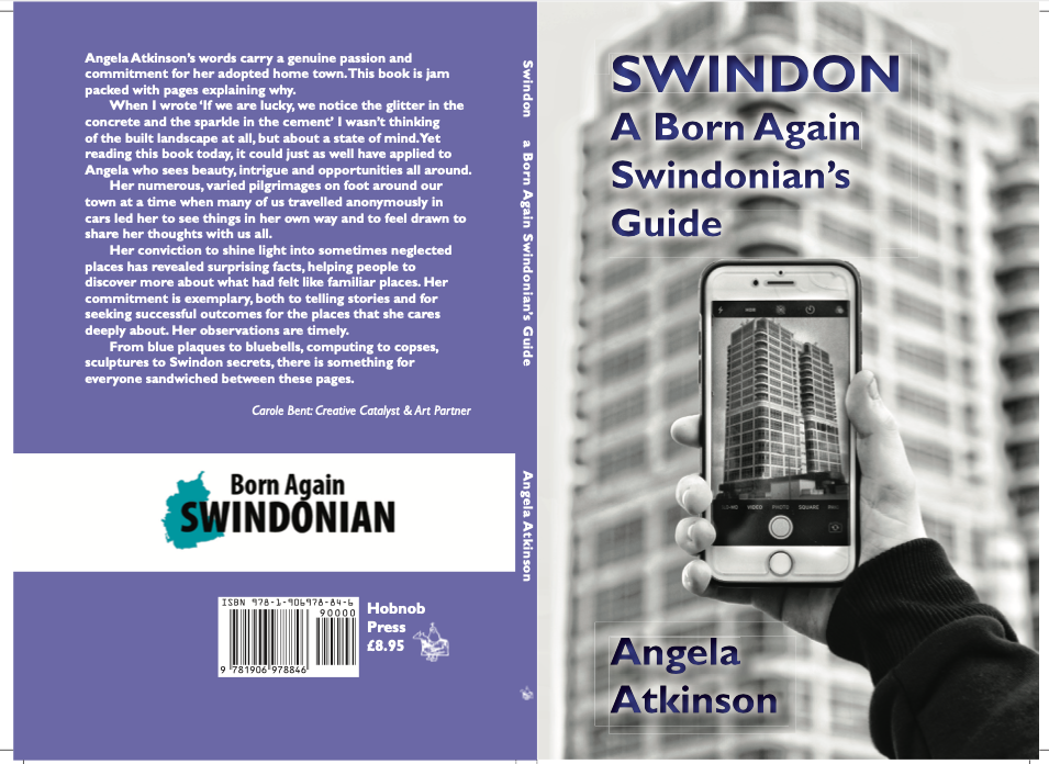 Swindon: A Born Again Swindonian's Guide - front and back cover of a book