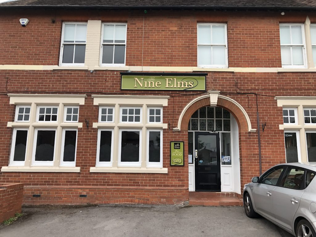 Nine Elms pub on Old Shaw Lane