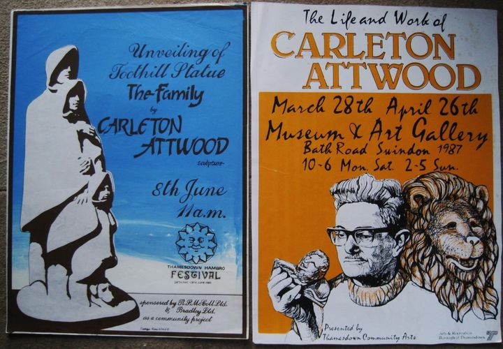 The Watchers Are Restored - posters by Swindon artist Ken White
