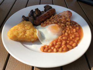 Cafe Nexus Cheney Manor - English breakfast