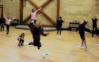 RPA Youngsters Don Dancing Shoes