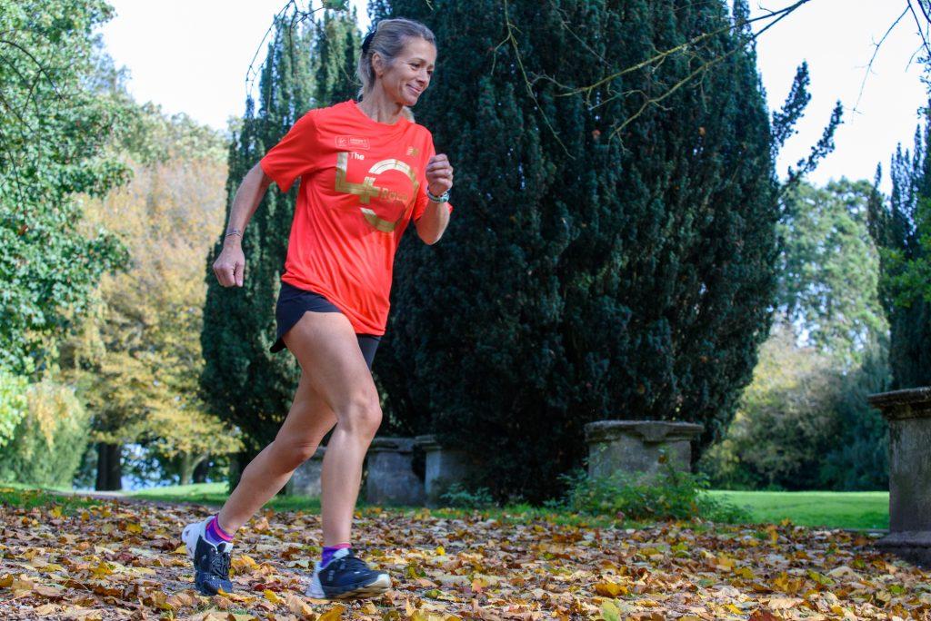 Runner is doing it for Dan - Michelle White