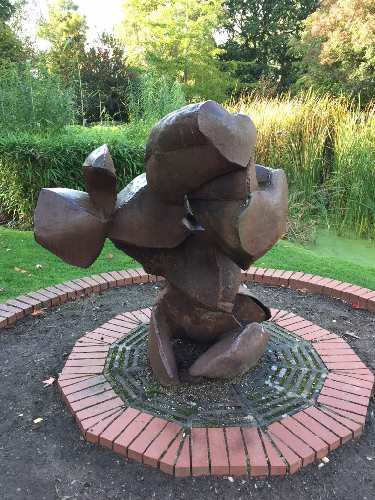 Turtle Storm Sculpture - Queen's park Swindon