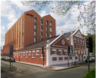 Kimmerfields for Swindon's new Cultural Quarter - proposed conversion of the old laundry building.
