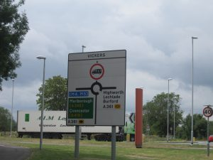 Swindon Roundabouts: Part 1 - Vickers roundabout sign